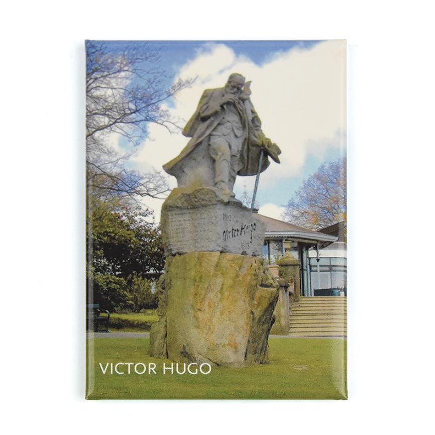 Victor Hugo Statue Magnet