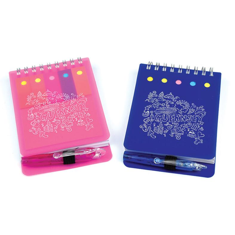 Guernsey Souvenir Notebook & Pen