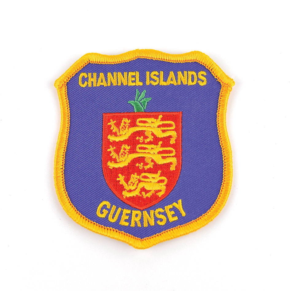 Crest Embroidered Badge