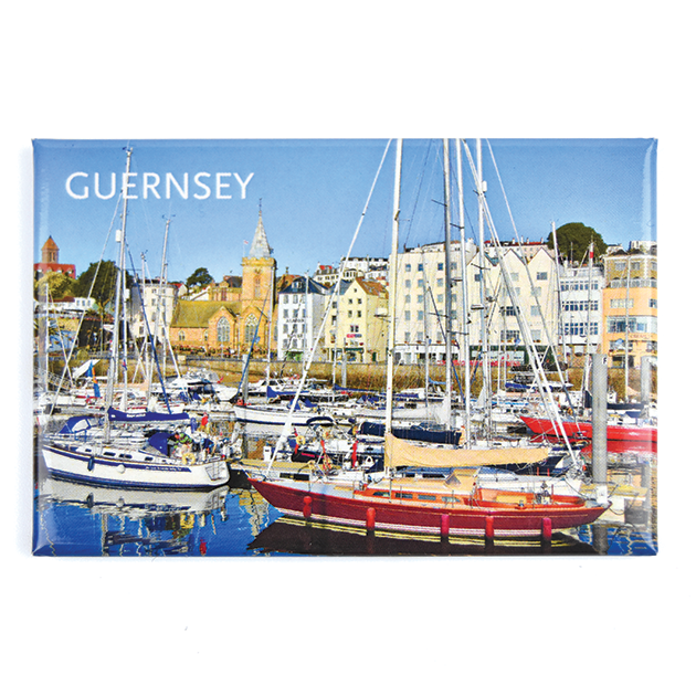 Yachts in visitor Marina Photo Magnet