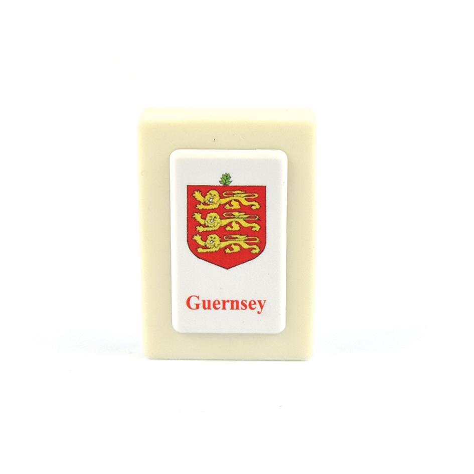 Guernsey Crest Eraser