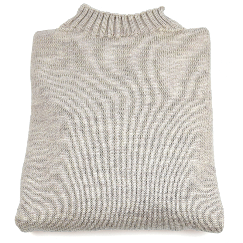 Traditional Wool Guernsey - Oatmeal