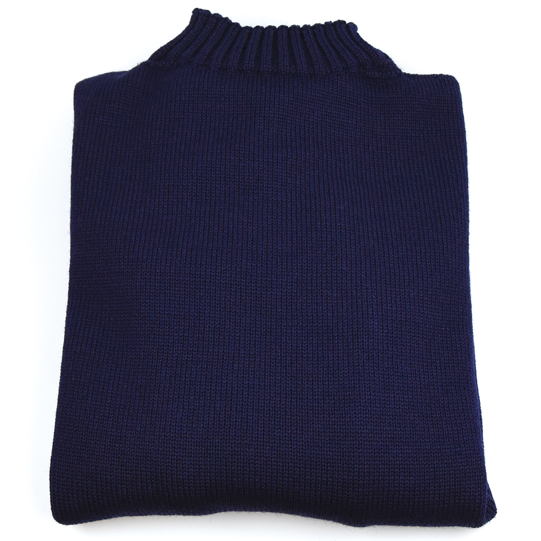 Traditional Wool Guernsey - Navy