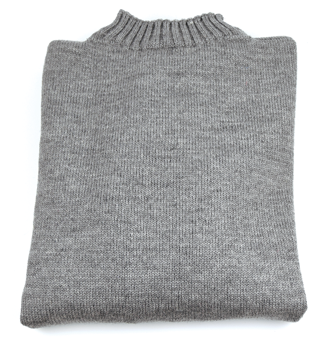 Traditional Wool Guernsey - Mid Grey
