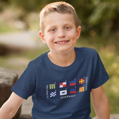 Children's Code Flag  T-Shirt