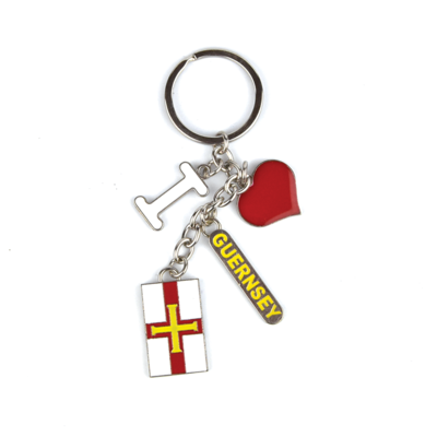 Guernsey Charms Keyring