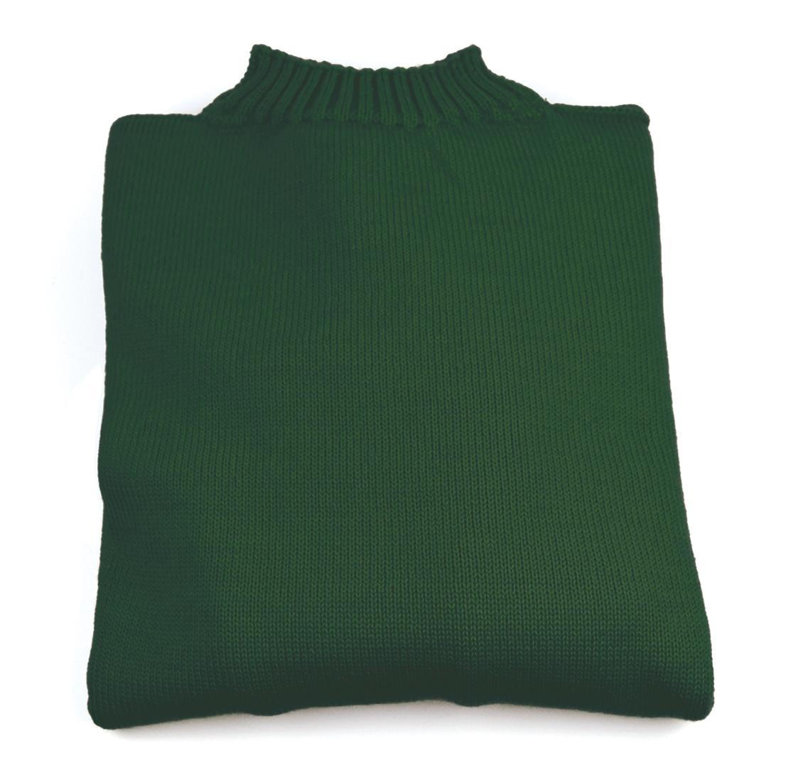 Traditional Wool Guernsey - Bottlegreen