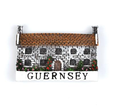 Guernsey Cottage Fridge Magnet