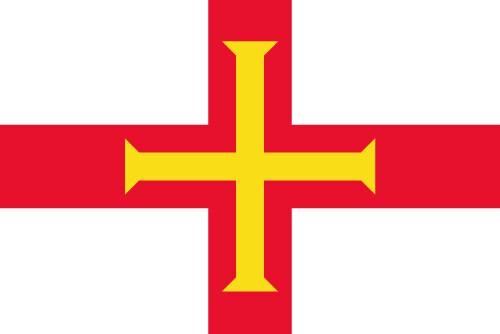 Large Guernsey Flag 5x3