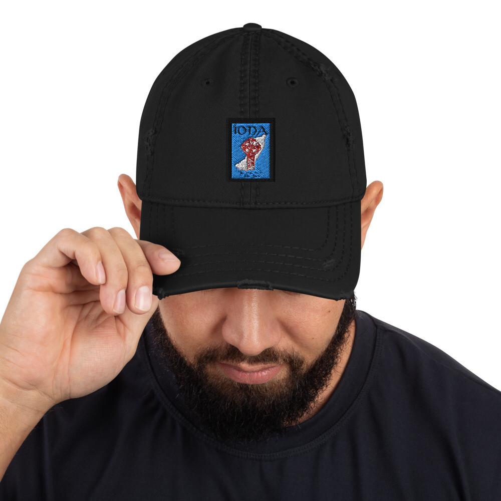 Iona Distressed Baseball Hat