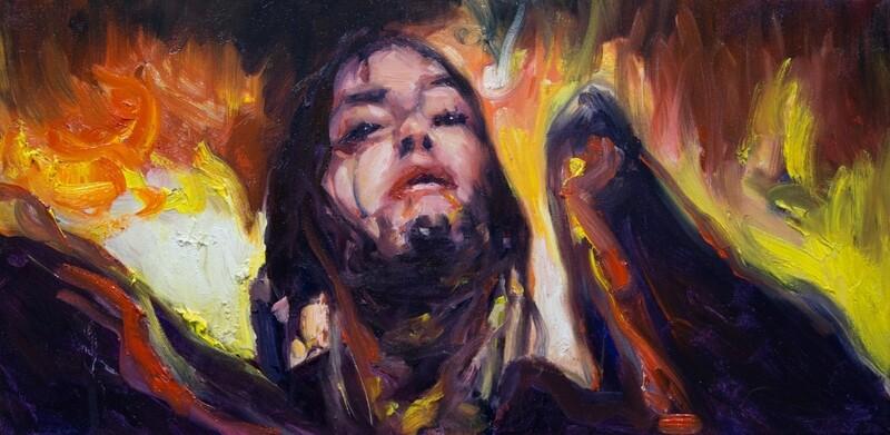 Billie Eillish Fallen Angel