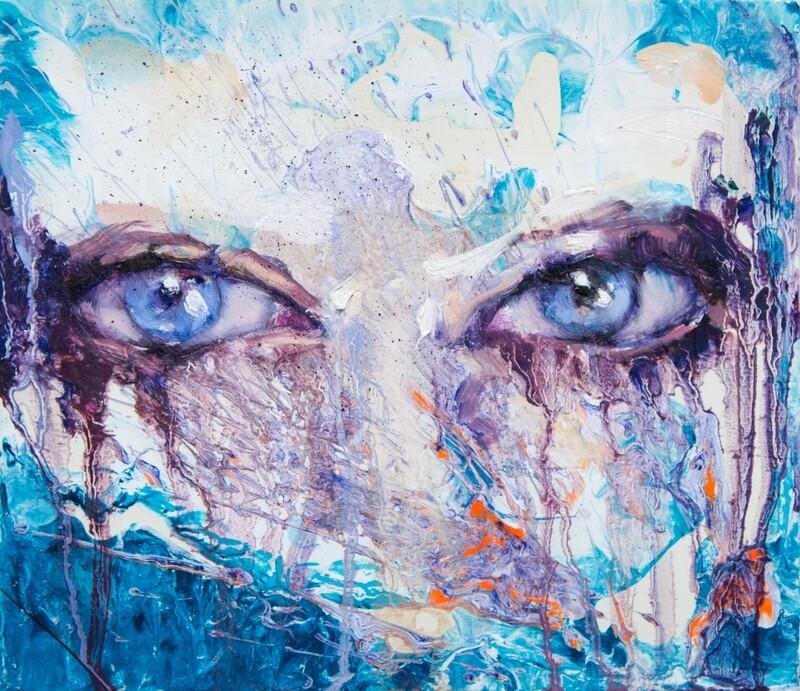 Blue Eyes Disguise CIGAR BOX