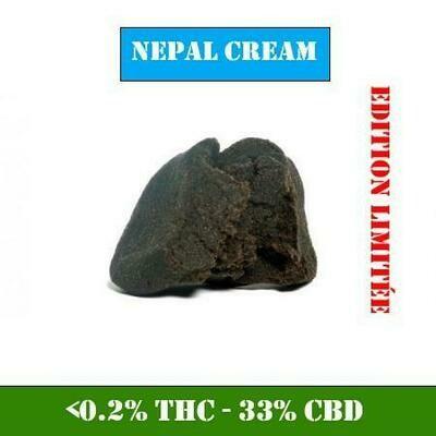 RESINE CBD 33% NEPAL CREAM