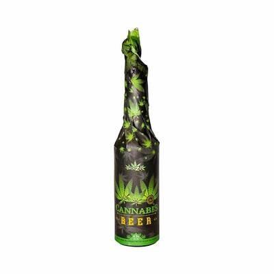 Bière au cannabis (330 ml) – Noire emballée à la main