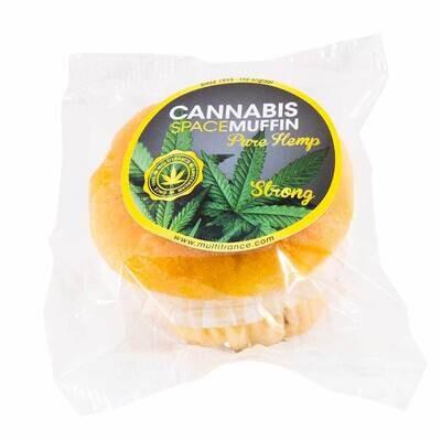 Muffin Cannabis Vanille