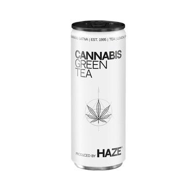 Thé vert au cannabis HaZe (250 ml)
