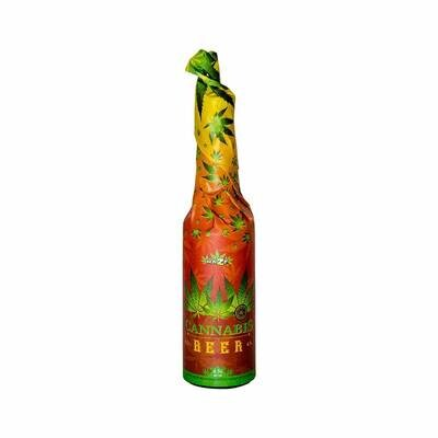 Bière au cannabis (330 ml) – Rasta emballée à la main