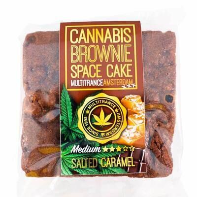 Brownie Cannabis Caramel (Saveur Sativa Moyenne)