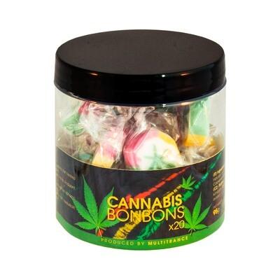 Bonbons Rasta Cannabis – Coffret Cadeau (20 Bonbons)