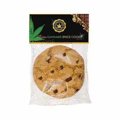 Biscuit espace vanille à l'américaine au cannabis