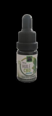 HUILE CBD Spectre Complet Arôme Menthe 5%