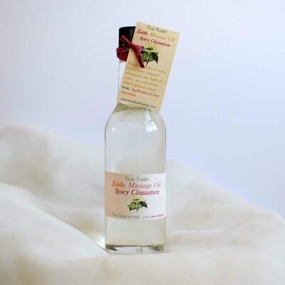 Edible Cinnamon Massage Oil