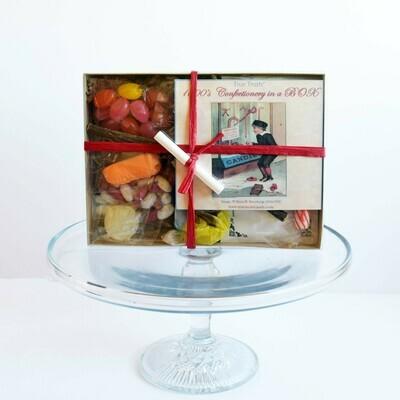 1800s confectionery shop box