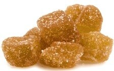 Ginger Sugared Candied