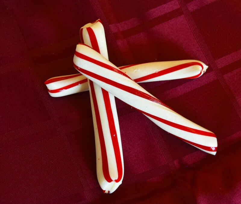 Hand Pulled  Peppermint Sticks