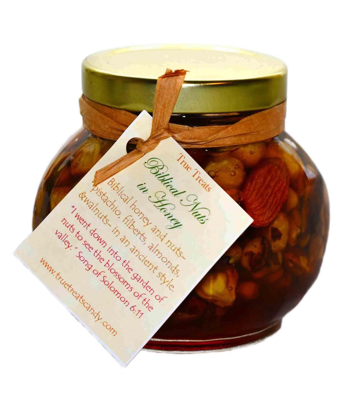 Nut and Honey Jar