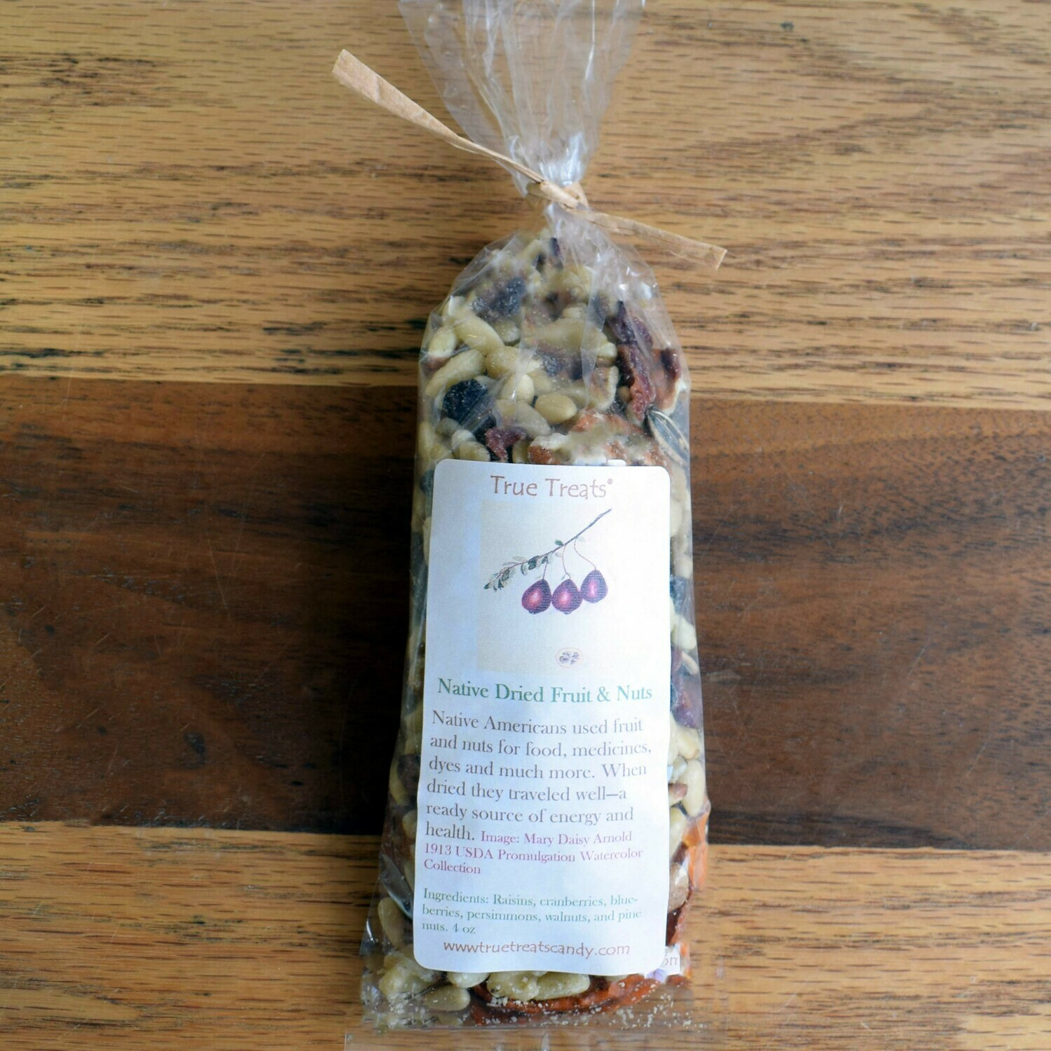 Native Dried Fruits and Nuts