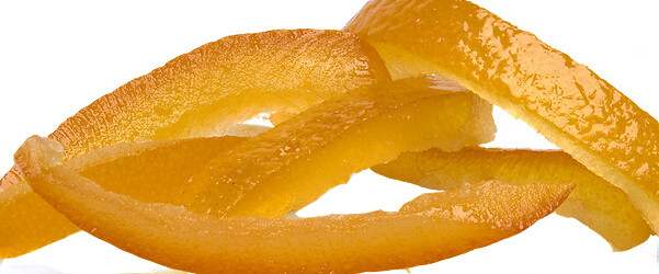 Orange Peels, candied sugared