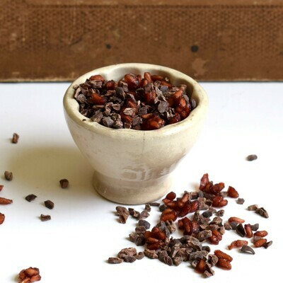 Cacao Nibs and Pomegranate