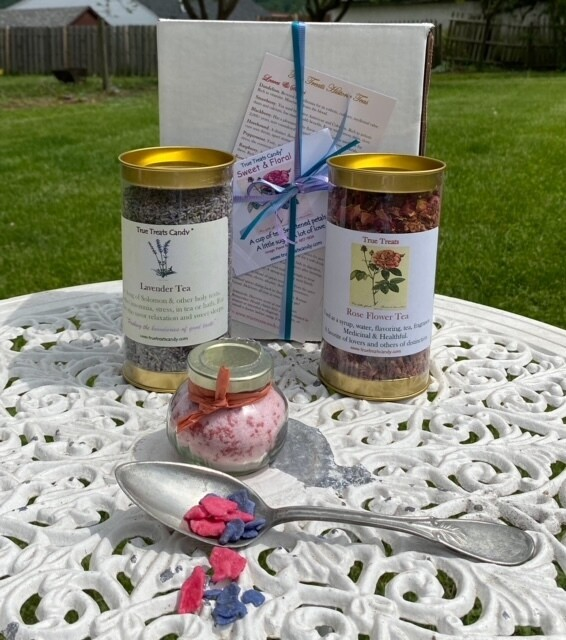 Tea Time Colonial Sweet and Floral Box
