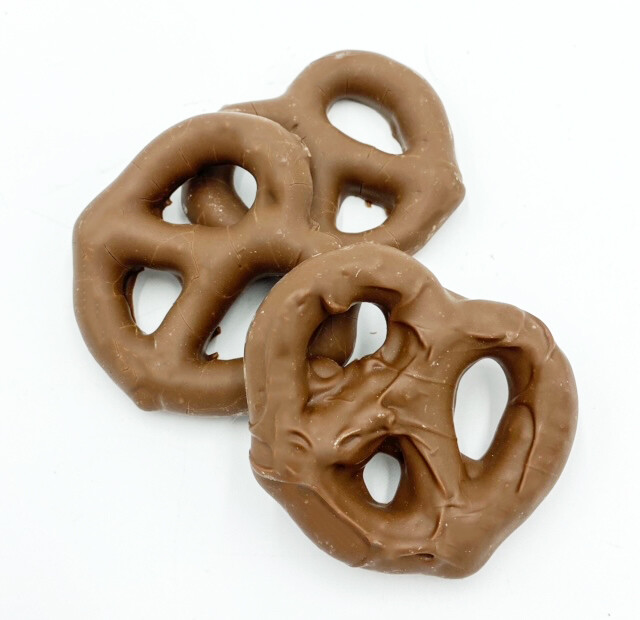Hand-Dipped Chocolate Covered Pretzels