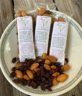 Take-A-Break Biblical Almond & Raisins