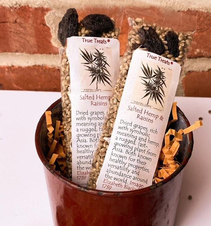 Take-A-Break Salted Hemp & Raisins