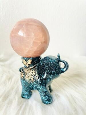 Hardworking Elephant Sphere Stand