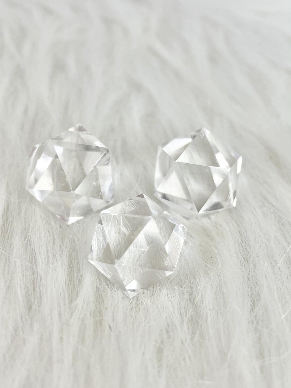 Sacred Geometry  Clear Quartz Icosahedron