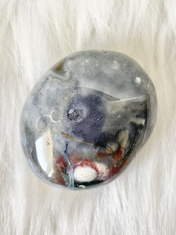 Gray Blue Ocean Jasper