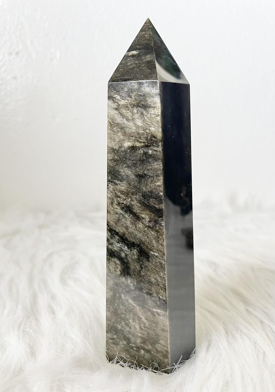 Warrior Golden Sheen Obsidian Tower