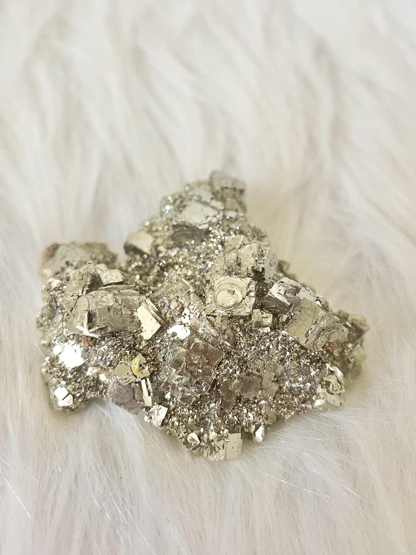 Prosperity Gold Pyrite Cluster