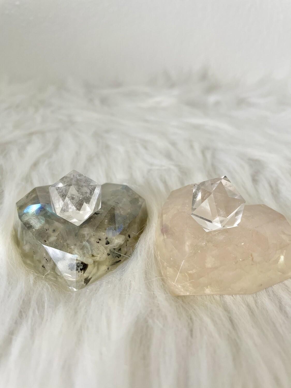 Marry Me Clear Quartz Icosahedron