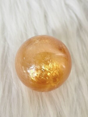 Manuka Honey Honey Calcite Sphere