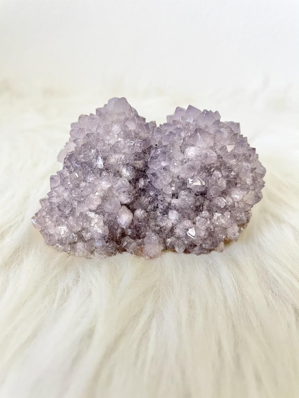 Purple Sea Urchin Amethyst Cluster