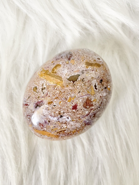 Toasty Ocean Jasper Palmstone