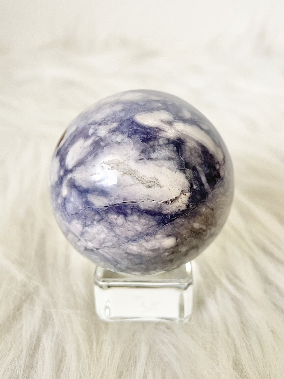 Purple Seas Purple Chalcedony Sphere