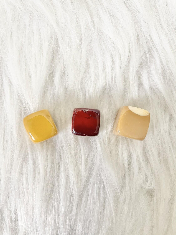 Colour Blocks Mookaite Cubes