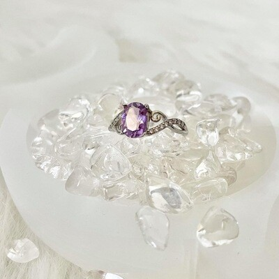 Jewel of the North Amethyst Ring