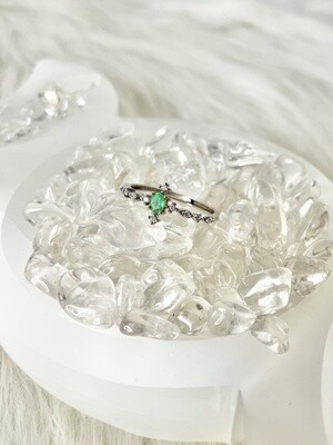 I Promise Emerald Ring